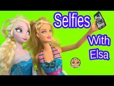 Cell Phone Selfies with Queen Elsa from Disney Frozen - Barbie Doll Playset Play Video Cookieswirlc Frozen Queen, Queen Elsa, Cookie Swirl C, C Videos, Ice Cream Candy, 8th Birthday, Disney Frozen, Pet Shop, Barbie Dolls