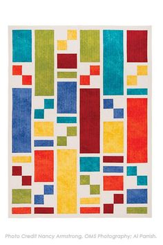 Modern, streamlined, quick, with characteristics such as these, the column quilt will no doubt soon become your go-to form of patchwork. Quilt designs are commonly based on squares, triangles, or c...