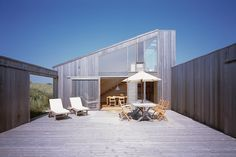 Summer house at Kandestederne, Denmark - C.F. Møller Architects - Via Thisispaper Magazine