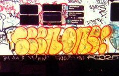 Graffiti Writing, Graffiti Art, Grafitti Street, Street Art, Graffiti History, New York Subway, Wildstyle, Old School, New York City