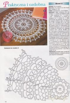 Kira scheme crochet: Scheme crochet no. Crochet Doily Diagram, Crochet Doily Patterns, Crochet Chart, Thread Crochet, Crochet Motif, Crochet Lace, Crochet Stitches, Free Crochet, Crochet Dreamcatcher
