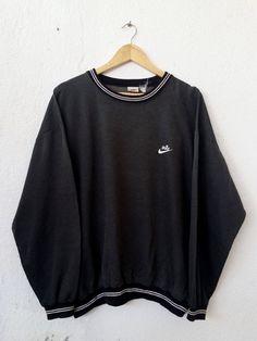 Vintage Shirt Woven Cotton Calvin Klein 1990s 80s Sweatshirt Jumper Pullover Parisian Inspired Large Baggy Oversized Chunky Boyfriend MQmKg