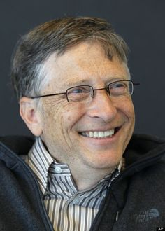 1. Bill Gates - $66 Billion UP, he just keeps bringing hope to the American Dream!