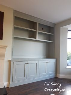 Traditional Alcove unit Carpentry Services, Bespoke Furniture, Alcove, Shed, Lounge, The Unit, Goals, Traditional, Storage
