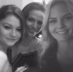 Emilie, Lana and Jen - how is this picture even real?!!?