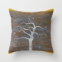 Constant Throw Pillow by Carley LoFaso - $20.00