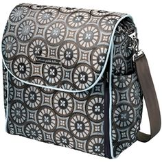 Trendy Petunia Pickle Bottom Backpack Diaper Bag - http://www.gotobaby.com/ - A chic and sophisticated diaper bag comes complete with everything you and baby need for a day out on the town.