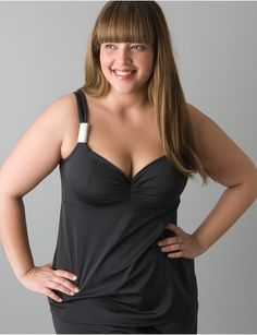 6f9f21f85a8 I could wear this tankini. Has my favorite Cacique bra in it. The girls
