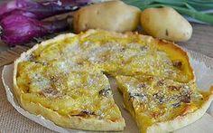 Torta salata con patate e cipolle ricetta veloce
