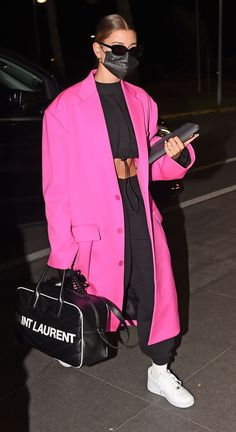 Looks Street Style, Street Style Edgy, Model Street Style, Looks Style, Estilo Hailey Baldwin, Hailey Baldwin Style, Mode Outfits, Chic Outfits, Fashion Outfits
