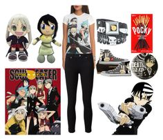 """""""Soul Eater"""" by hannahcannon97 ❤ liked on Polyvore featuring Paige Denim"""