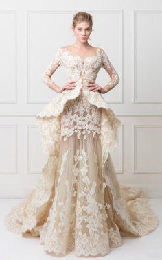 Featured Wedding Dress:Maison Yeya;www.maisonyeya.com; Wedding dress idea.