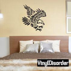 Bird Wall Decal - Vinyl Decal - Car Decal - DC081