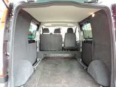 Mercedes Vito carpeting | West Country Campervans