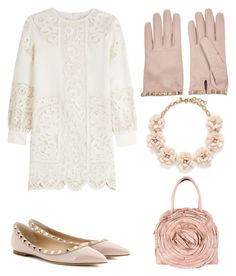 """"""""""" by gabrielle-dixon ❤ liked on Polyvore featuring Valentino, J.Crew, women's clothing, women, female, woman, misses and juniors"""