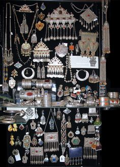 Jewellery from Central Asia I have some of these! love them