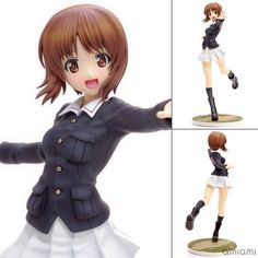 (33.99$)  Watch here  - Anime Girls And Panzer Nishizumi Miho Panzer Jacket Ver. 1/8 Scale Painted Sexy PVC Action Figure Collectible Model Toys Doll