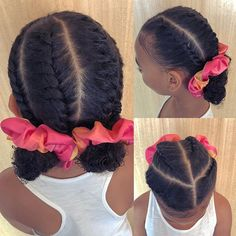 Little Girl Hairstyles In 2020 Hairstyle Natural Hairstyles Black Hair Little Girl African Uk Hairstyles, Lil Girl Hairstyles, Black Kids Hairstyles, Natural Hairstyles For Kids, Kids Braided Hairstyles, Medium Hairstyle, Hair Medium, Kids Natural Hair, Mixed Baby Hairstyles