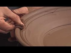 Ceramic Arts Daily – How to Create a Beautiful Lobed Rim on a Wheel Thrown Plate