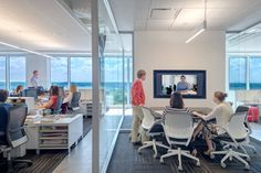 Importance of a variety of types of office spaces. . . private, conference rooms, collaborative, etc.