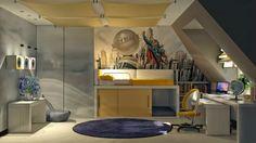 superman boys room decorating ideas