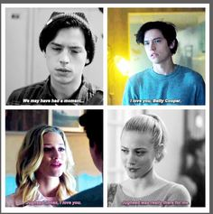 "Bughead ♡ the beginning and the ""I love you"" Riverdale Quotes, Bughead Riverdale, Riverdale Archie, Riverdale Funny, Betty Cooper, Riverdale Betty And Jughead, Riverdale Characters, Riverdale Cole Sprouse, Movies And Series"