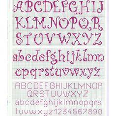 #crossstitch #cross_stitch #crossstitcher #crossstitching #xstitch #çarpıişi #carpiisi #crosswork #crossstitchlove #hobby #hobbytime #handmade #handmadewithlove #etaminişi #etaminaşkı #kanaviçe #kanava #etamin #kanavice #puntocruz #puntodecruz #instacraft #puntdecreu #kaneviçeseverler #kanaviçeşablonu #harf #alfabe Cross Stitch Letters, Anna, Bullet Journal, Lettering, Instagram, Names, Alphabet, Craft, Castles