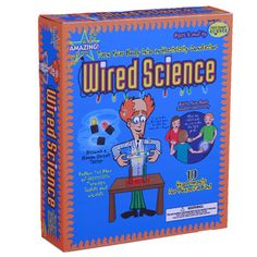 Wired Science Turn your body into a conductor of electricity! Explore the science of electricity with these eye-catching, electron-chasing experiments. Turn LEDs and batteries into light graffiti. Use the Energy Stick to turn your body into a conductor of electricity. Seek out conductors and non-conductors and follow the flow of electricity through solids and liquids. Super science fair ideas.  Ages 8 and up
