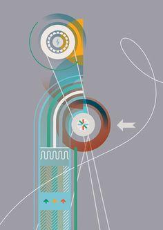 Leandro Castelao, formas sintéticas que ilustran conceptos complejos