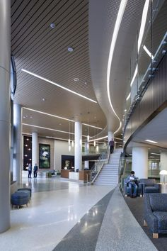 "Healthcare Nailing Net Zero: Gundersen Healthcare  System the new Gundersen Concourse Healthcare Design provides the public spine of the hospital and replaces the old building's main corridor, a dreary, claustrophobic space that AECOM's Matt Sanders described as ""a complete disaster.. #healthcare"