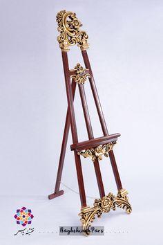 سه پایه بوم تابلو نقاشی و تابلو فرش Standing