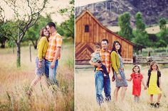 Family posing ideas families