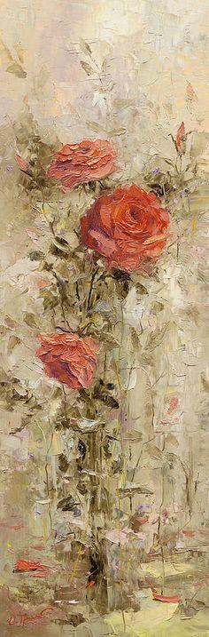 Roses In The Garden   - Oleg Trofimoff
