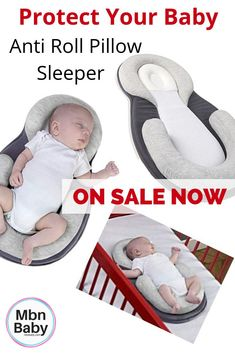 c9d6b64355f4a Newborn Baby Memory Foam Anti-Rollover Pillow. MbnBaby