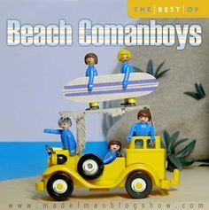 MADELMAN BLOG SHOW: Beach Coman-Boys