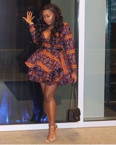 The complete pictures of latest ankara short gown styles of 2018 you've been searching for. These short ankara gown styles of 2018 are beautiful African Fashion Designers, African Fashion Ankara, African Inspired Fashion, Latest African Fashion Dresses, African Print Dresses, African Print Fashion, Africa Fashion, African Dress, Ankara Short Gown Styles