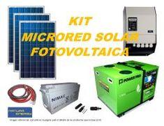 Kit Microred Solar Fotovoltaica 6000VA Full Tape, Kit, Solar Power, School, Duct Tape, Band, Ice