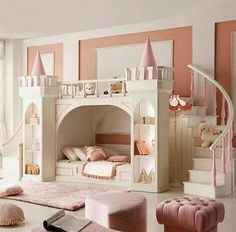 Princess Bedroom For A Little Girl