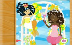 Do your kids love mermaids? Do they love princesses and puzzles too? Look no further. Fairy Tale Games: Mermaid Princess Puzzles is a fun animated puzzle game for toddlers, preschoolers, and little kids from ages 1 to 6.<p>Features:<br>* Rich, colorful graphics by children's book illustrator Laura Tallardy.<br>* 12 different cute mermaid puzzles to choose from!<br>* Positive encouragement.<br>* Paint bubbles to pop at the end of each puzzle!<br>* Increasing difficulty.<br>* Easy for kids to…