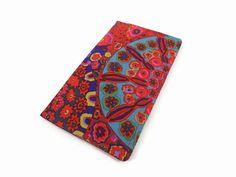 Women's Checkbook Cover Bifold Wallet Fabric Wallet by ThePurseCo #checkbookcover #fabric #wallet