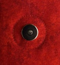 How to Sew On Magnetic Snaps