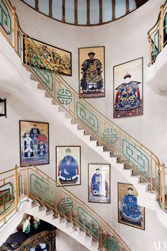Step Inside Valentino Garavani's Asian-Inspired Château Near Paris Photos | Architectural Digest