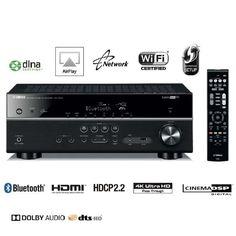 #BonPlan #HighTech #Cdiscount ❤ #YAMAHA HTR-4068 #Amplificateur #Tuner #Audio #Vidéo 5.1ch - Ultra HD #4K - #Son #Surround sur 5 canaux - Décodage format #HD #Audio : Dolby TrueHD et DTS-HD Master Audio - #Amplification discrète complète - Convertisseurs