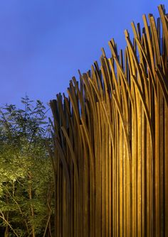 The Tales Pavilion by Luca Nichetto - #wood #architecture
