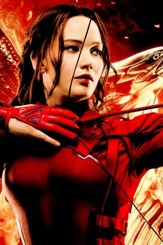 Jennifer Lawrence as Katniss Everdeen in Mockingjay Part 2