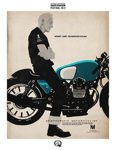 The Aristocratic Motorcyclist poster