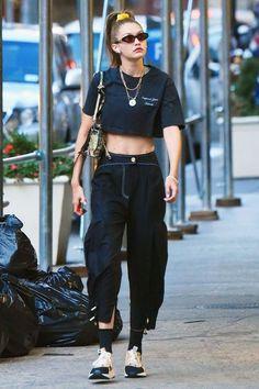 Gigi Hadid Casual, Gigi Hadid Looks, Gigi Hadid Style, Gigi Hadid Fashion, Kendall Jenner Gigi Hadid, Looks Street Style, Model Street Style, Estilo Gigi Hadid, Look Fashion