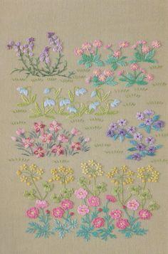 PDF Pattern Tutorial hand embroidery stitch My garden 002