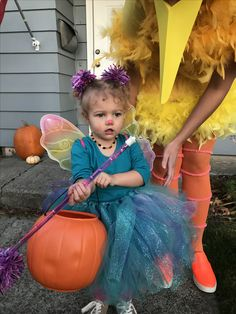 Homemade Abby Cadabby costume. #sesamestreet #abbycadabby #halloweencostumes  sc 1 st  Pinterest & Abby Cadabby Costume | Abby Cadabby | Pinterest | Costumes Homemade ...