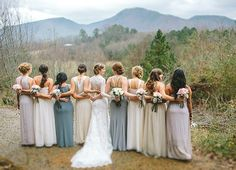 Cherokee National Forest Wedding with Pretty Woodland Details Funny Wedding Poses, Indian Wedding Poses, Wedding Humor, Wedding Stuff, Best Wedding Venues, Wedding Show, Dream Wedding, Lace Wedding, Wedding Photos